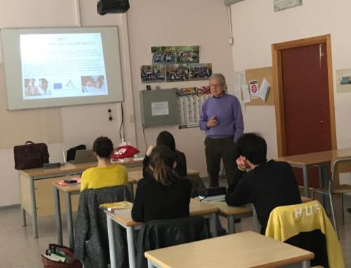 Incontro presso l'istituto Europa Unita Liceo Enriques