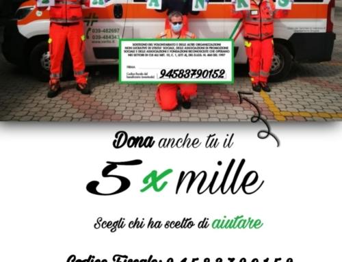 Dona il 5 x 1000 alla Croce Verde Lissonese