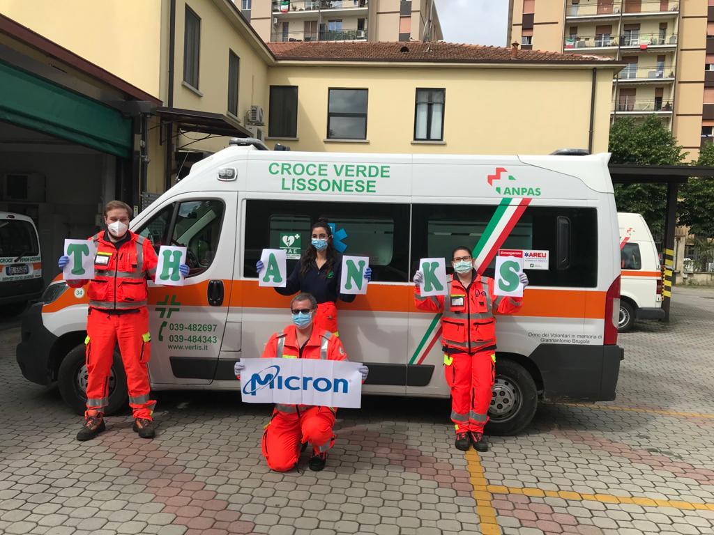 Donazione Micron